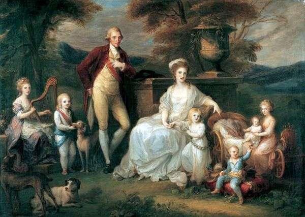 费迪南德四世与他的家人  Angelika Kaufman