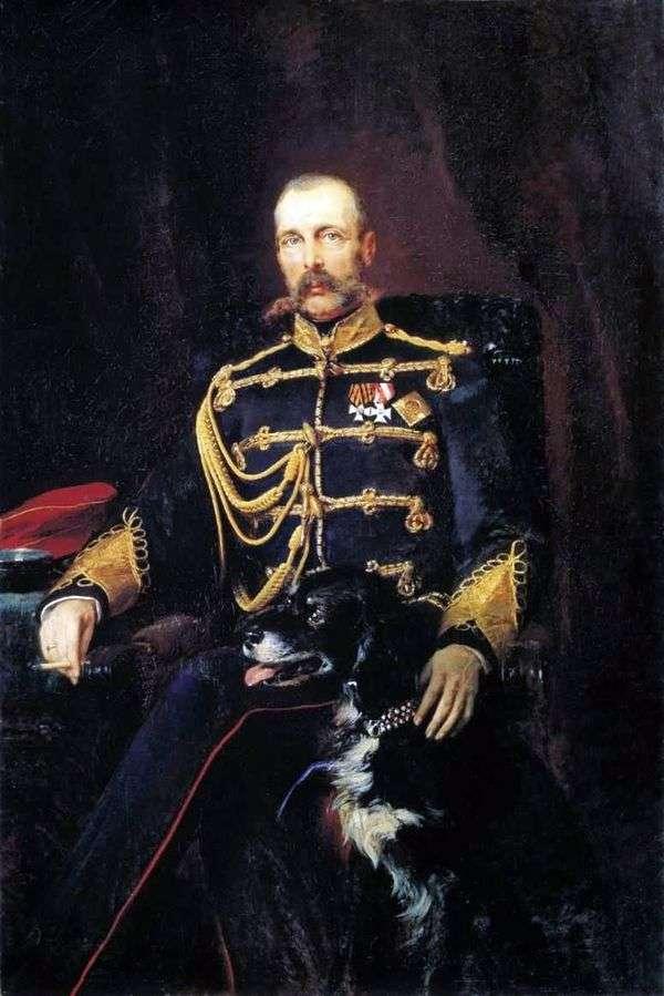 亚历山大二世的肖像   康斯坦丁马可夫斯基