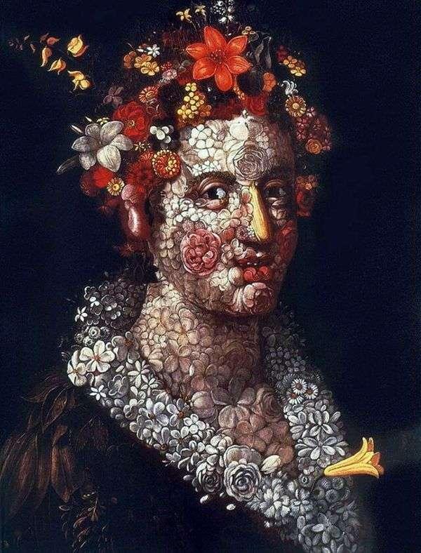 Flora   Giuseppe Archimboldo