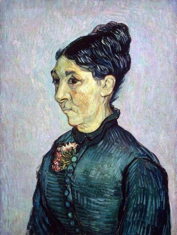 特拉布夫人的肖像   文森特梵高