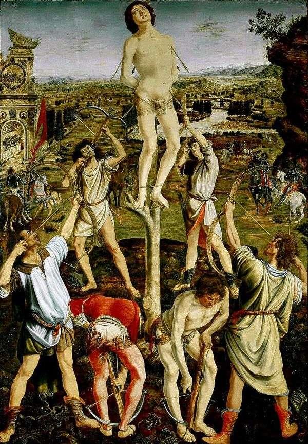 圣塞巴斯蒂安的殉难   安东尼奥德尔波拉约奥