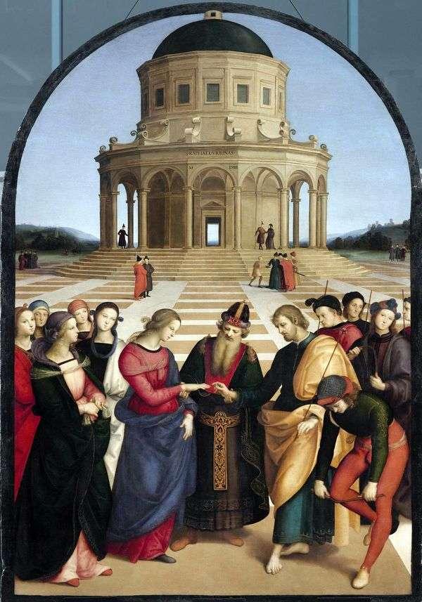 圣母玛利亚的订婚   拉斐尔桑蒂