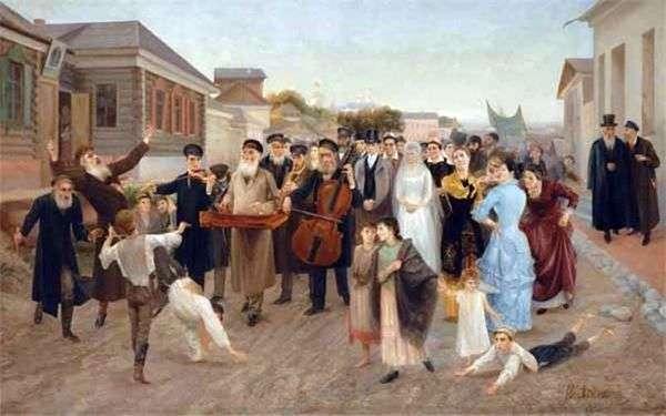 犹太人婚礼   Isaac Asknazy