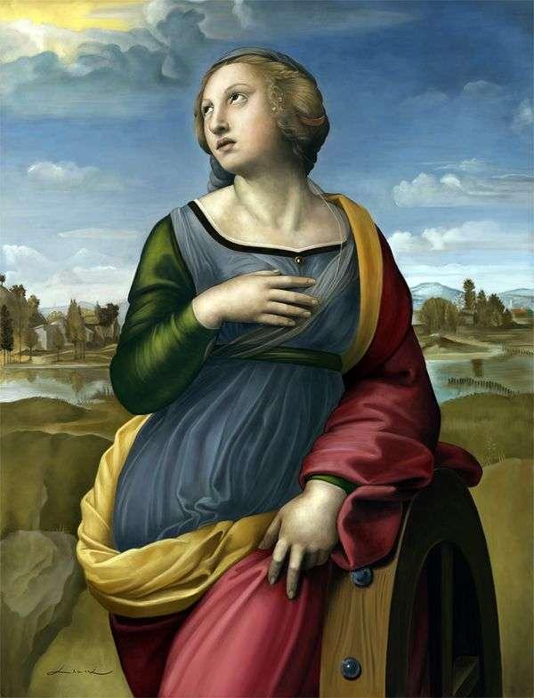 亚历山大的圣凯瑟琳   拉斐尔桑蒂