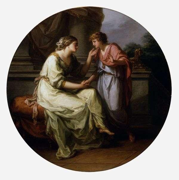 Papirius,恳求他的母亲揭露这个秘密  Angelika Kaufman
