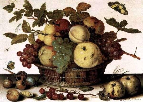 水果篮   Balthazar van der Ast
