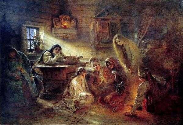 圣诞占卜   康斯坦丁马可夫斯基