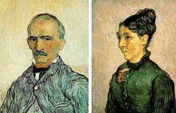 特拉布克的肖像   文森特梵高