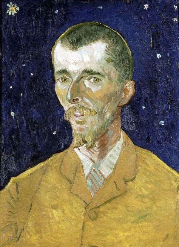 诗人,尤金博世的肖像   文森特梵高