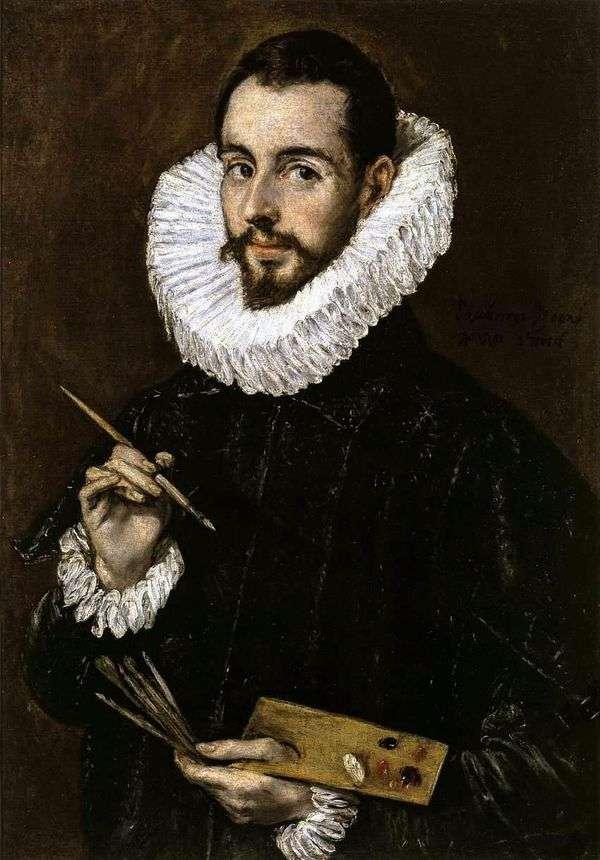画家的画象   埃尔格列柯