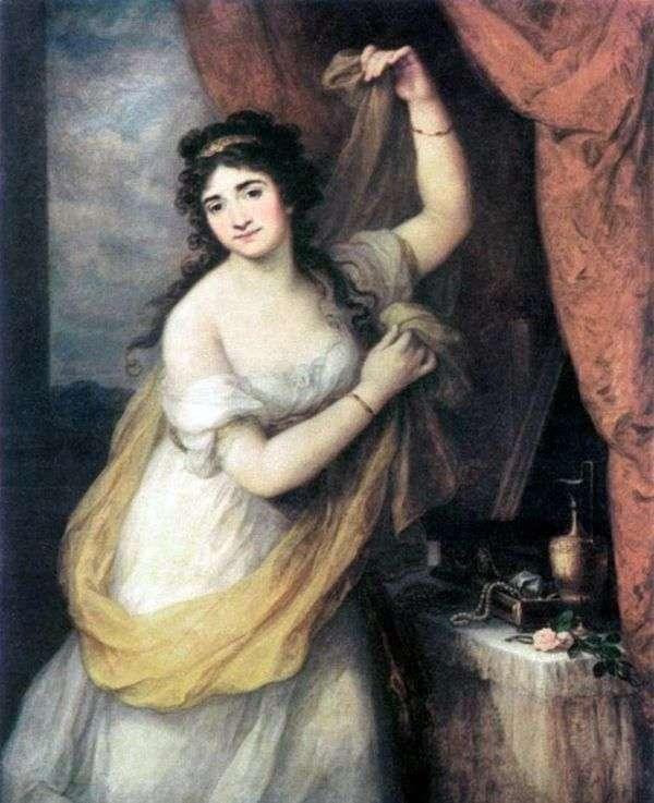埃斯特哈齐公主肖像   安吉丽卡考夫曼