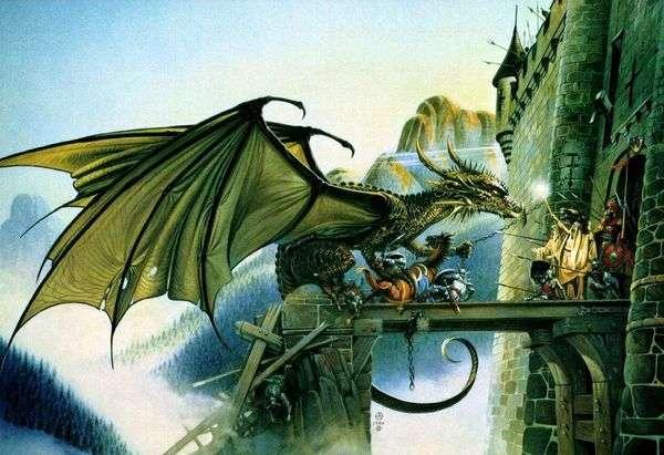 城堡的攻击   克里斯Achilleos