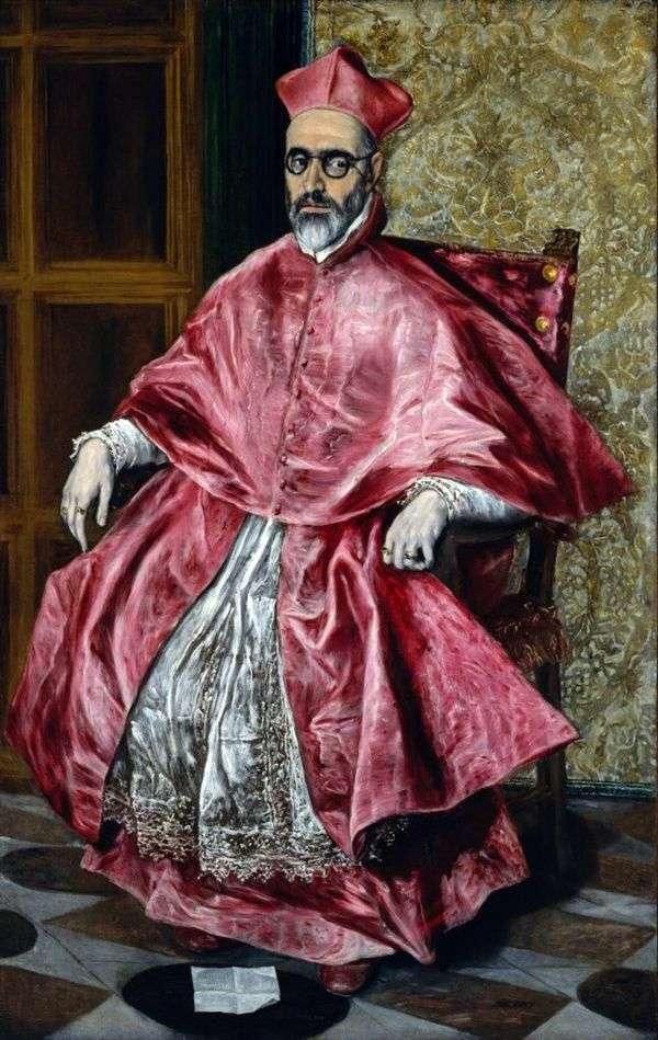 红衣主教的肖像   埃尔格列柯