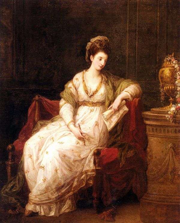 斯嘉丽夫人   安吉丽卡考夫曼的肖像