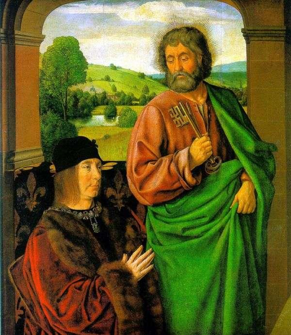 皮尔二世,波旁公爵与sv。使徒彼得的赞助人   让嘿嘿