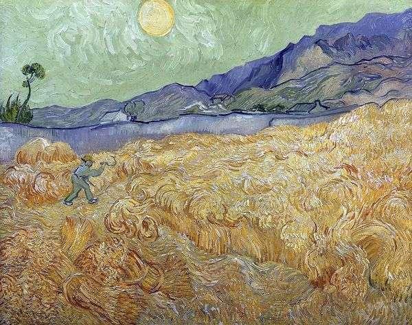 Dawn Wheatfield和Reaper II   Vincent Van Gogh