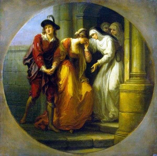 Abelard和Eloise的告别   Angelika Kaufman