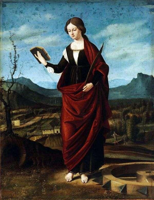 亚历山大的圣凯瑟琳   马可巴扎蒂