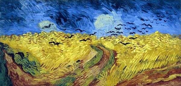 Raven Wheatfield   Vincent Van Gogh