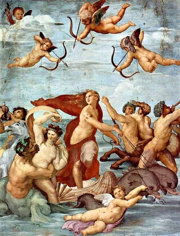 Galatea(壁画)的胜利   Rafael Santi