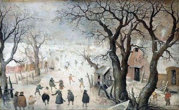 城市的冬天   Averkamp Hendrick