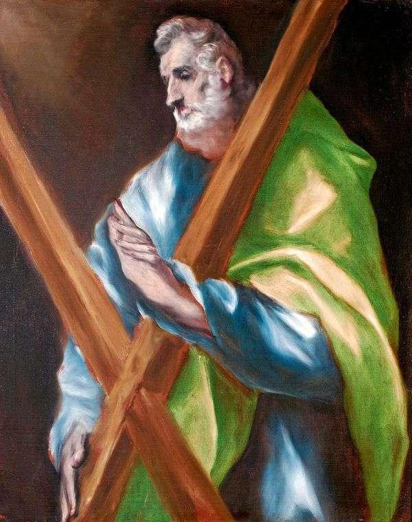 圣使徒安德鲁   埃尔格列柯