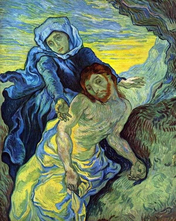 Pieta(德拉克洛瓦)   文森特梵高