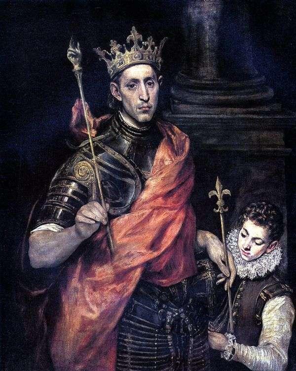 圣路易斯,法国国王和佩奇   埃尔格列柯