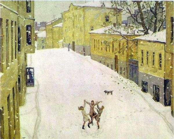 第一场雪   伊戈尔波波夫