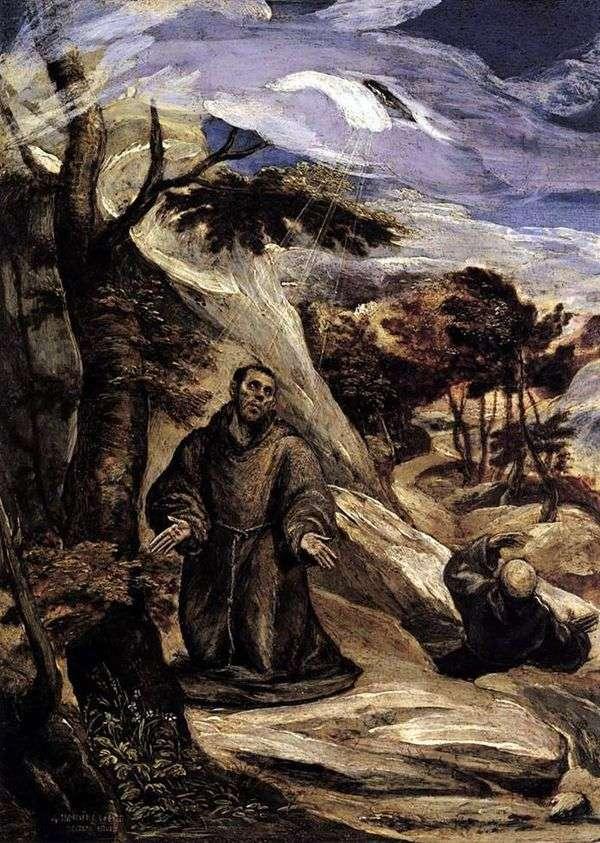 圣弗朗西斯的耻辱化   埃尔格列柯