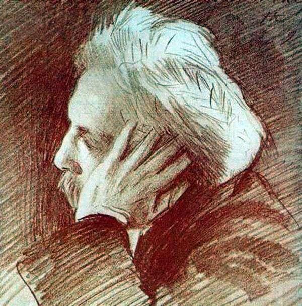 加布里埃尔福尔的肖像   约翰萨金特