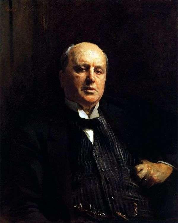 亨利詹姆斯   约翰萨金特的肖像