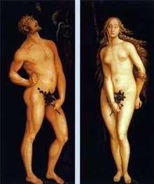 亚当和夏娃   汉斯巴尔登
