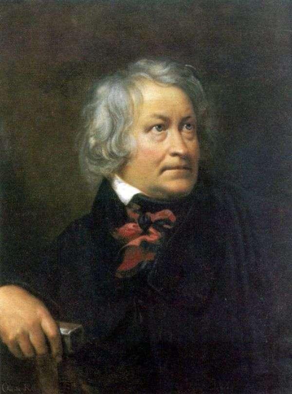 雕刻家托瓦尔森的肖像   奥雷斯特基普伦斯基