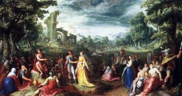 Scipio的慷慨   Karel van Mander