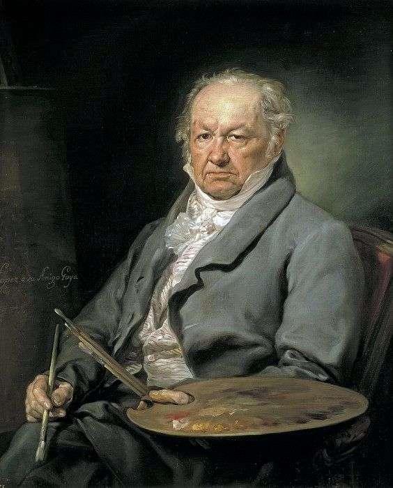 艺术家Francisco Goya   Lopez Porthan