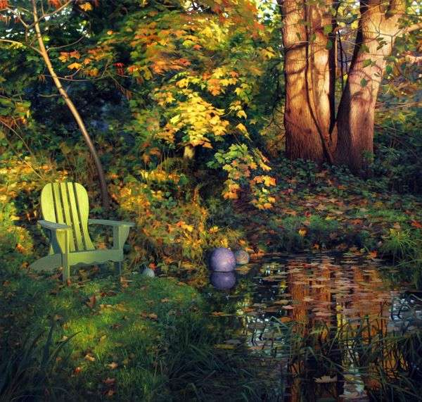 秋天的院子   斯科特普赖尔