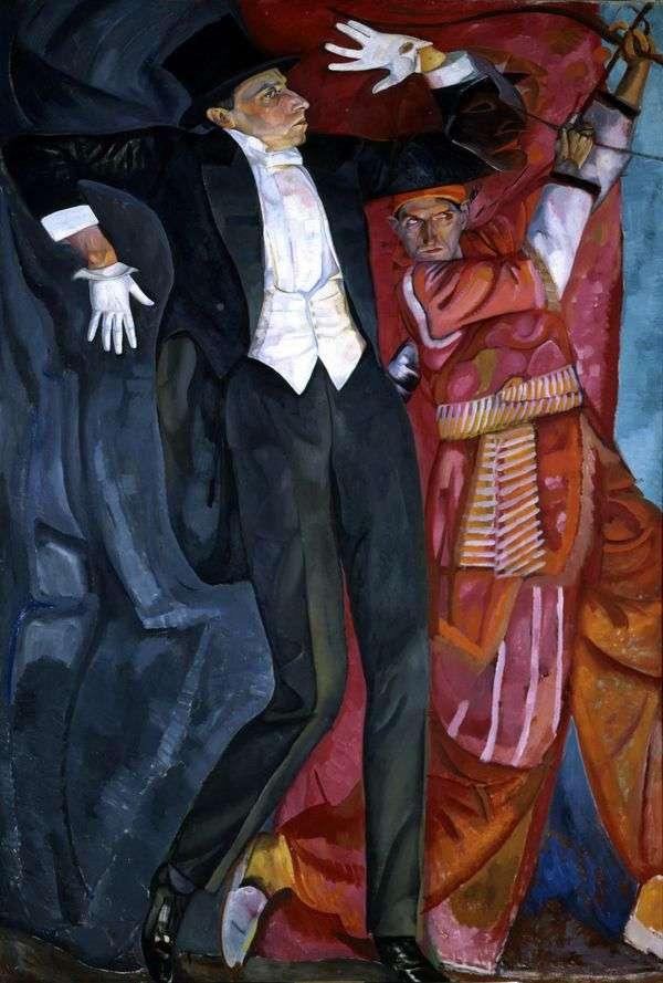 V. E. Meyerhold的肖像   鲍里斯格里戈里耶夫