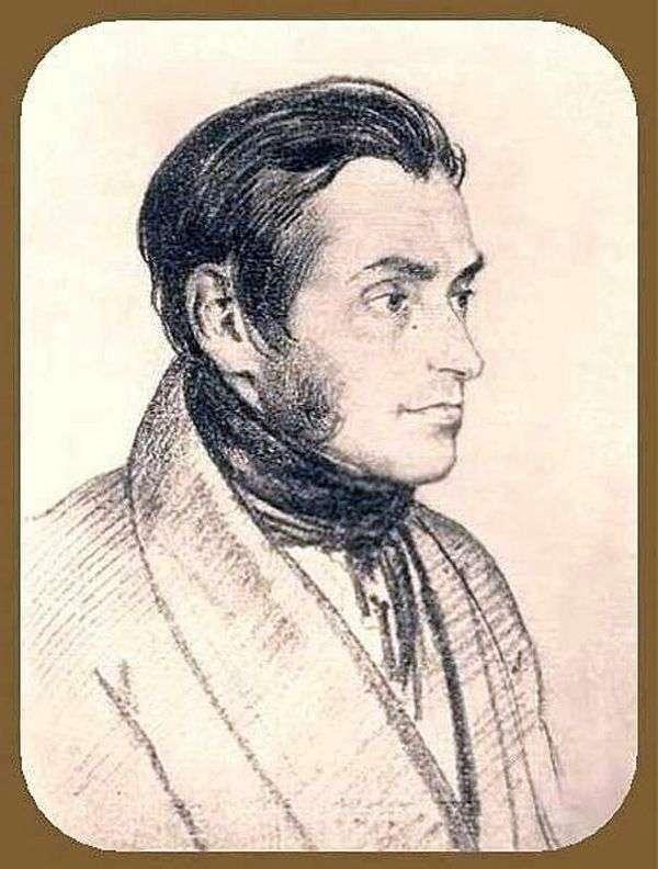 Adam Mitskevich的肖像   Orest Kiprensky