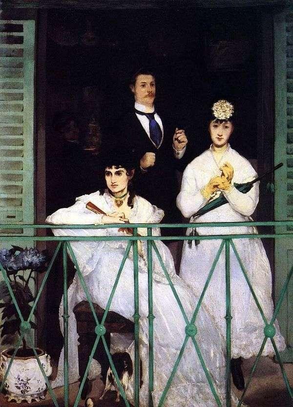 阳台   Edouard Manet