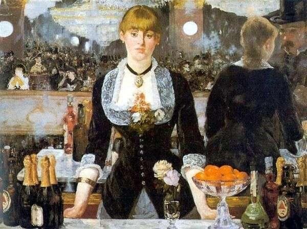 Folies Bergeres酒吧   Edouard Manet