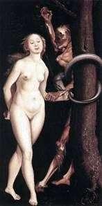 夏娃,蛇和死亡   汉斯Baldung