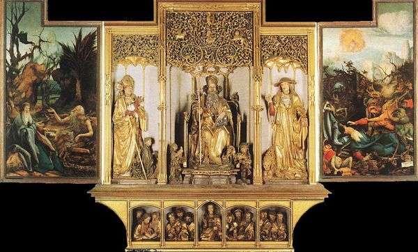 Isenheim Altar雕塑作品   Matthias Grunewald
