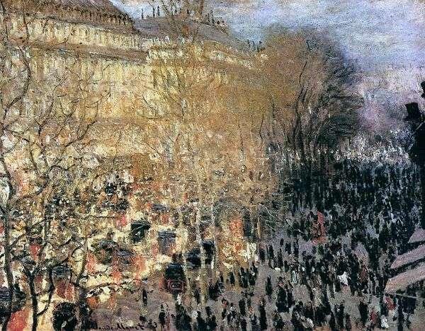 Capuchin Boulevard   Claude Monet