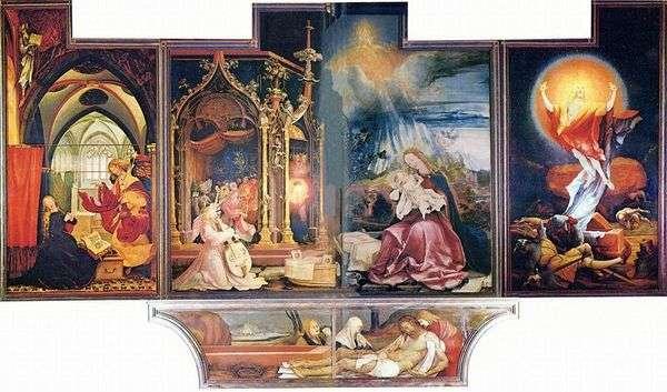 伊森海姆祭坛,第二次扫描   马蒂亚斯格鲁内瓦尔德