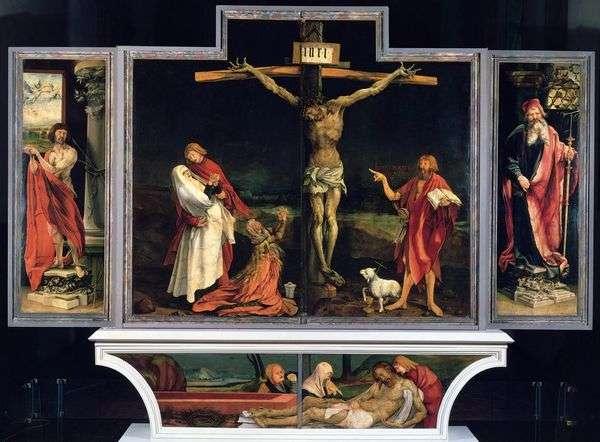 伊森海姆祭坛,第一次扫描   马蒂亚斯格鲁内瓦尔德