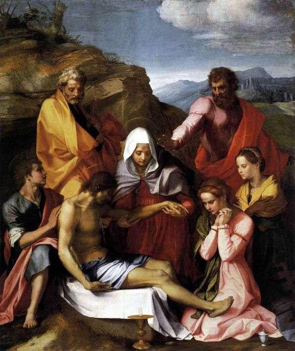 Pieta   Andrea del Sarto