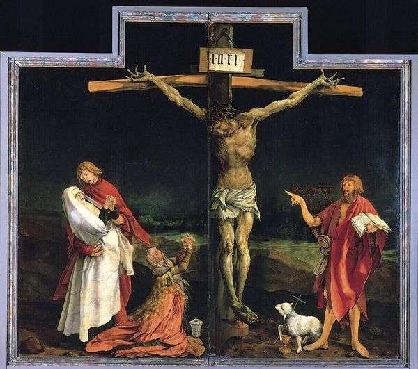 被钉十字架   Matteas Grunewald