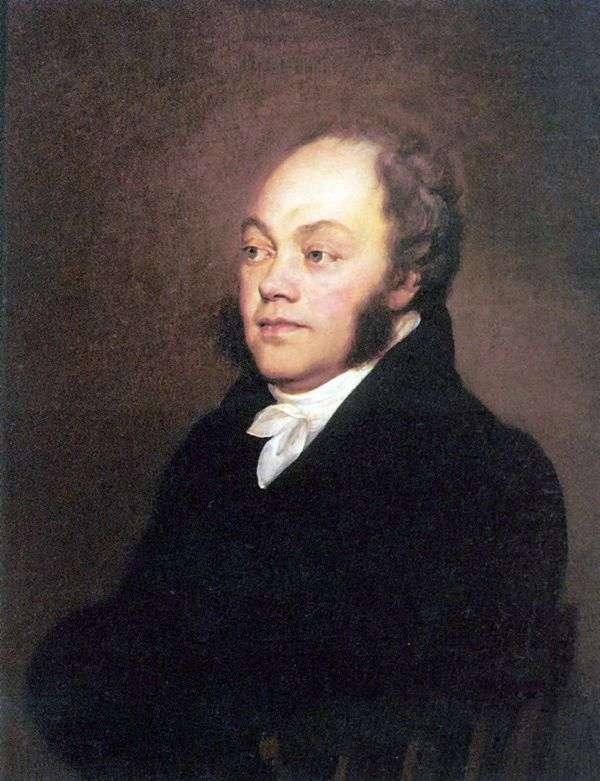 Count F. V. Rostopchin的肖像   Orest Kiprensky
