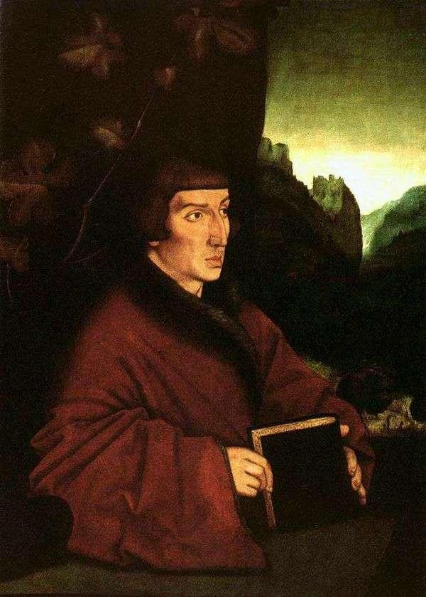 Ambrosius Wolmar Keller的肖像   Hans Baldung